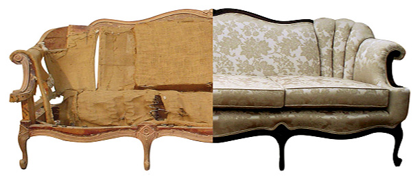 Upholstery Restoration and Select Fabrics
